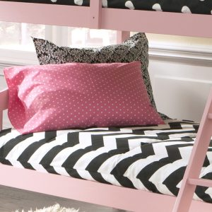 """Charlie"" Chevron Tailored Bunk Bed Comforter"