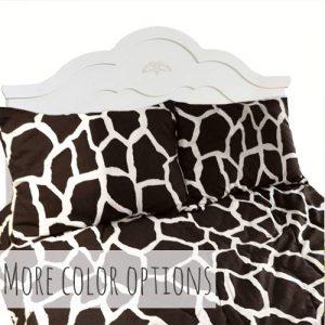 Giraffe Print Bunk Bed Comforter