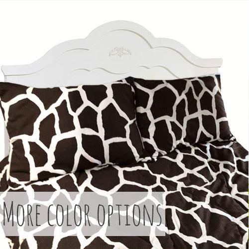 Gerri Giraffe Tailored Bunk Bed Hugger Comforter Bedding For Bunks