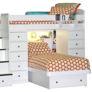 """Dottie"" Polkadot Bunk Bed Hugger Comforter"