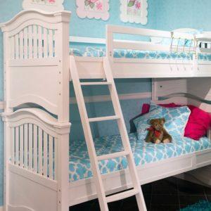 """Harper"" Trellis Quatrefoil Bunk Bed Hugger Comforter"
