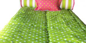 Polkadot Bunk Bed Hugger Comforter