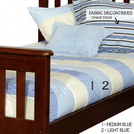 BunkBed Bedding in Taylor Stripes