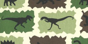 Dinosaur Theme Bunk Bed Bedding