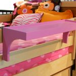 bunk bed shelves
