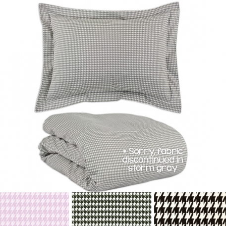 Bunkbed Bedding - Houndstooth Collection