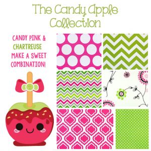 """Candy Apple"" Custom Bunk Bed Bedding Collection"