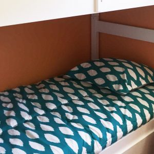 """Addison"" Ikat Fitted Bunk Bed Comforter"