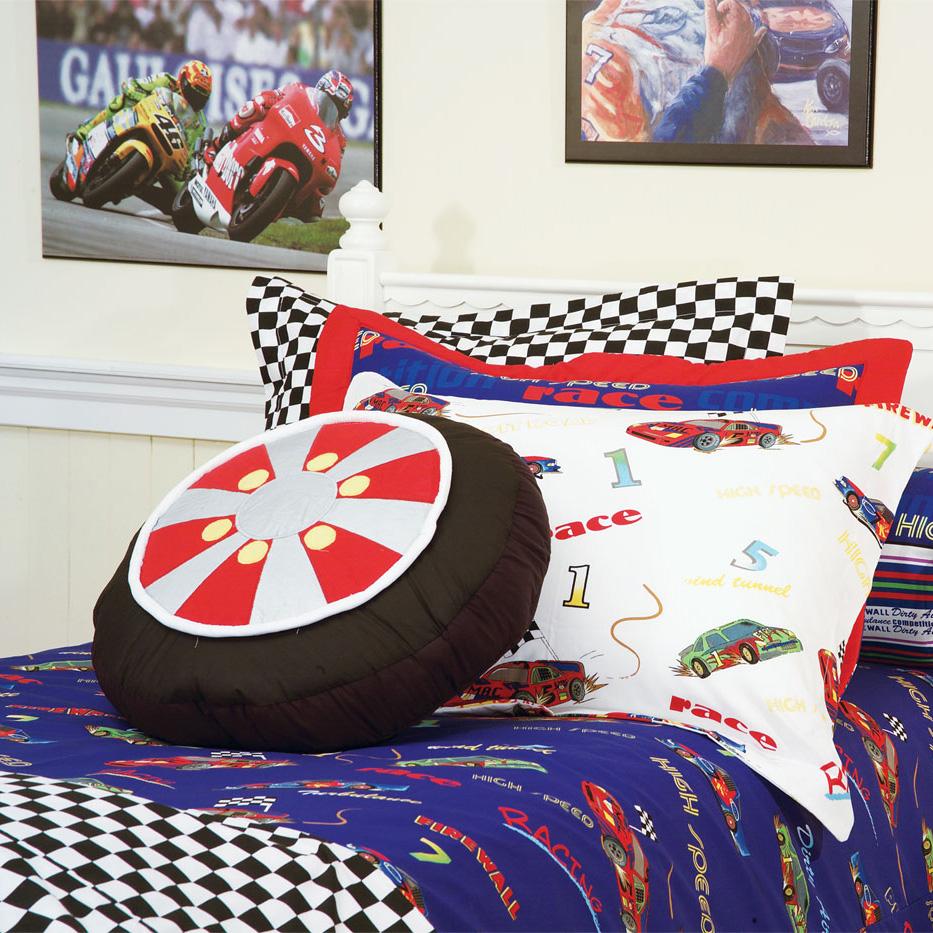 Speedy Racecar Cars Bunk Bed Hugger Comforter Bedding For Bunks