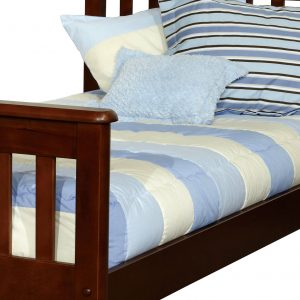 """Taylor"" Light Blue Bunk Bed Hugger Comforter"