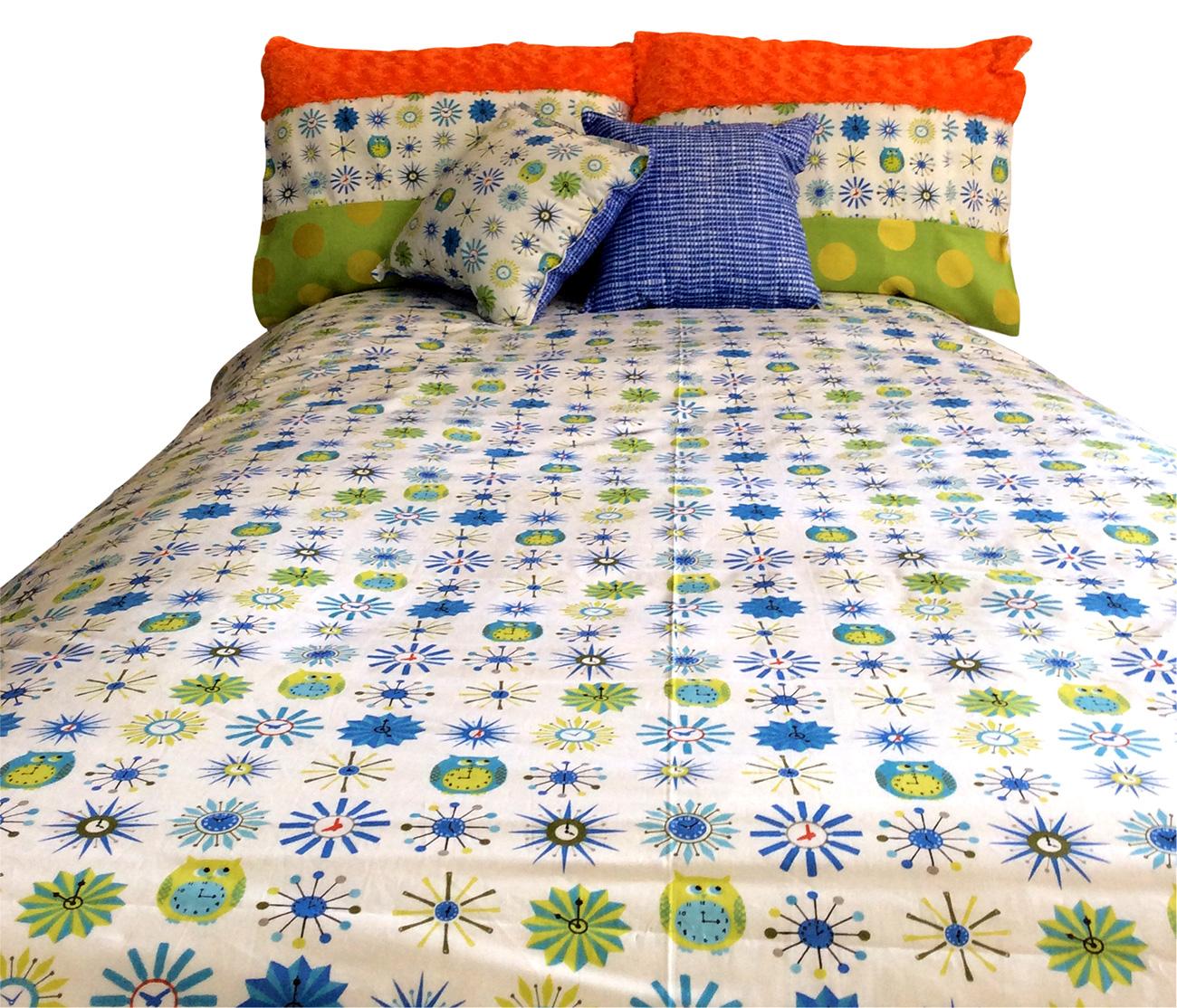 Hoot Hoot Owl Theme Bunk Bed Hugger Comforter Bedding For Bunks