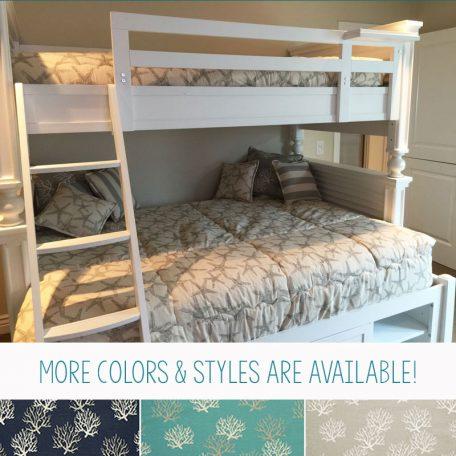 Bunk Bed Bedding - Beach House Collection