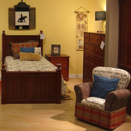 Bunk Bed Hugger Comforter in Western Cowboy theme