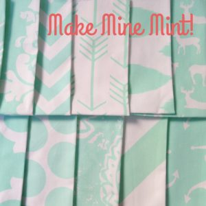 """Make Mine Mint""  Bunk Bed Bedding Collection"