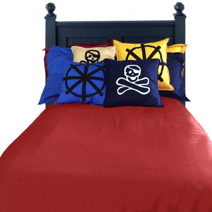 Ahoy Matey Pirate Bunk Bed Hugger Comforter Bedding For Bunks