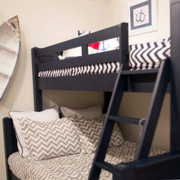 nautical theme bunk room