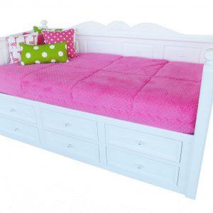"""""""Minky"""" Bunk Bed Hugger Comforter"""