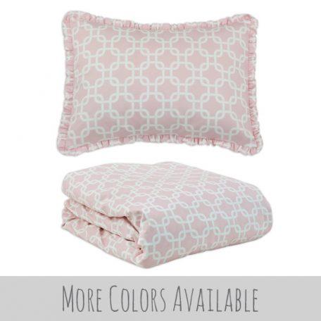 Girls Modern Bunk Bed Comforter