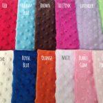 Kids Minky Comforter Colors