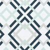 Bunk Bed Bedding Fabric - Winston in Navy