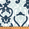 Bunk Bed Bedding Fabric - Alex in Navy