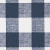 Bunk Bed Bedding Fabric - Anderson Plaid in Navy