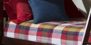 Plaid Bunk Bed Bedding