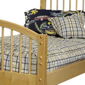 """Jackson"" Plaid Fitted Bunk Bed Comforter"