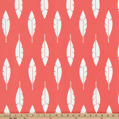 Bunk Bed Comforter Bedding in Coral, Blue and Gray Feather