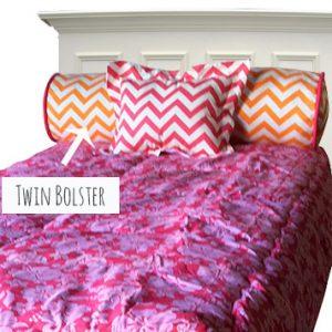Twin Bolster Pillow – 9″ x 36″