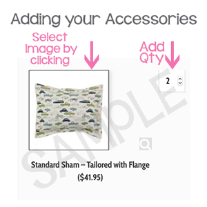 how to add accessories