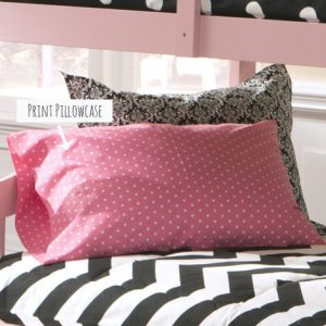 Standard Pillowcase in Print Fabric