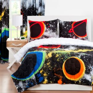 Space Zipper Bedding for Boys