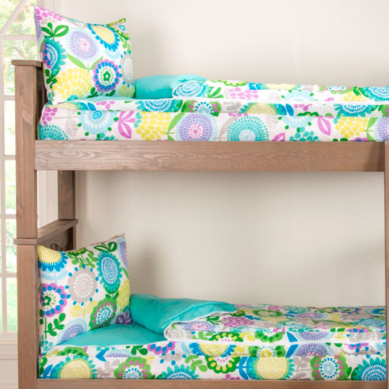Zipper Bunk Bed Bedding