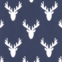 """Antlers"" Deer Tailored Bunk Bed Hugger Comforter"