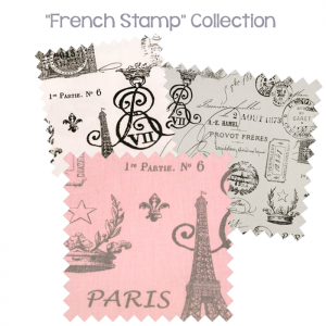 Bunk Bed Bedding French Stamp Collection