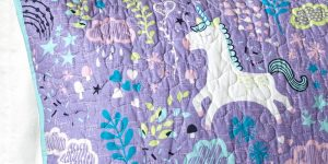 Unicorn Bunk Bed Bedding