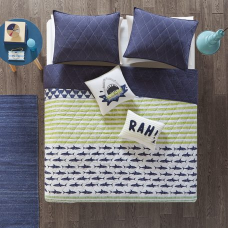 Shark Bunk Bed Bedding