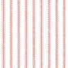 "Classic Ticking 1/8"" stripes in Lipstick Red"