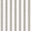 "Hayes Ticking 1/2"" stripes in Black"
