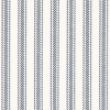 "Hayes Ticking 1/2"" stripes in Navy"