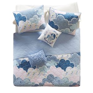 bunk bed bedding - cloud bunk bed coverlet