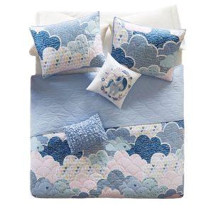 bunk bed bedding - cloud bunk bed coverlet