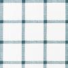 Bunk Bed Bedding - Fabric is Aaron in Plantation Blue Slub Canvas