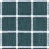 Bunk Bed Bedding - ABBOT Plantation Blue SLUB CANVAS