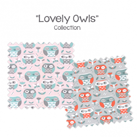 Bunk Bed Bedding - Lovely Owls