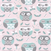 Bunk Bed Bedding - Owls in English