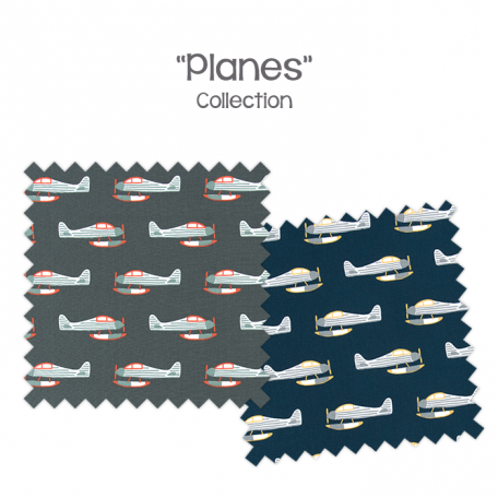Bunk Bed Bedding - Planes