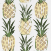Tropic Pineapple Slub Canvas
