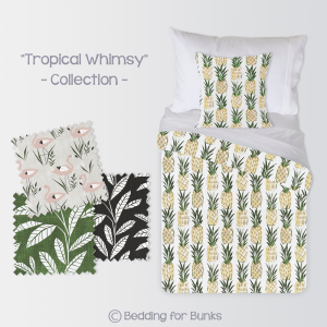Bunkbed Bedding Tropical Whimsy